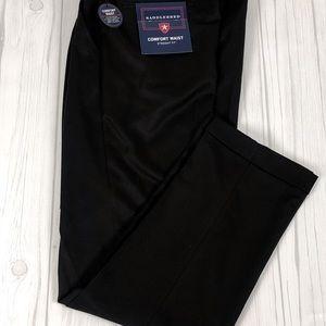 NWT Saddlebred Mens Pants Dress Casual Black Sz 34
